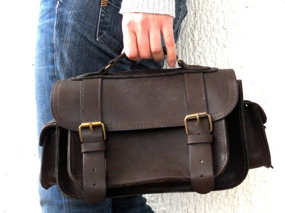 Leather Camera Bag medium by BlueDrop on Etsy, $135.00 - absolutely gorgeous.