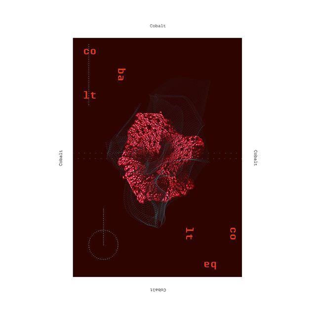 Cobalt #art #poster #posterdesign #graphicdesign #design #cobalt #metal #metals #chemicalelements #adobe#thedesigntip