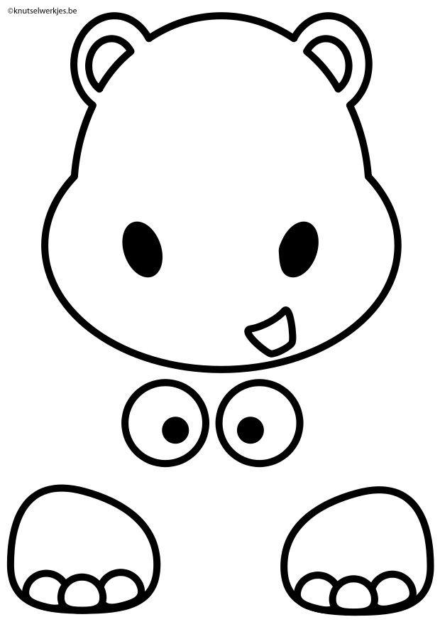 Hippo Craft - Crafts-for-children.org