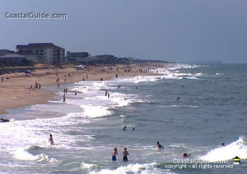 Nags Head, NC - On The Outer Banks, The Barrier Islands Of North Carolina - History, Events, Attractions - Atlantic Ocean Beaches and Roanoke Sound ........Coastalguide