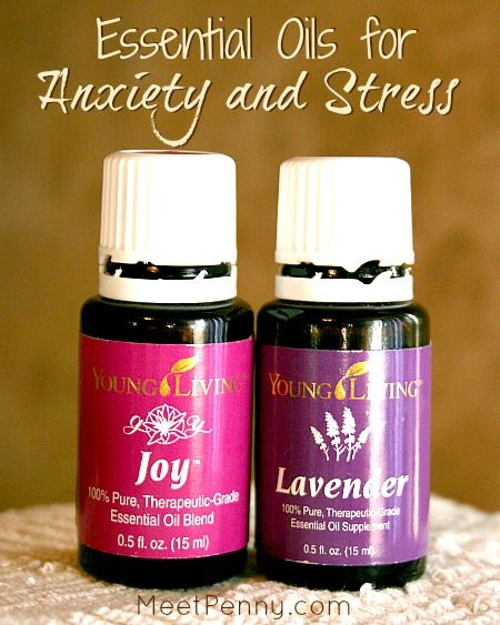 NEW at Meet Penny: Essential Oils for Anxiety and Stress
