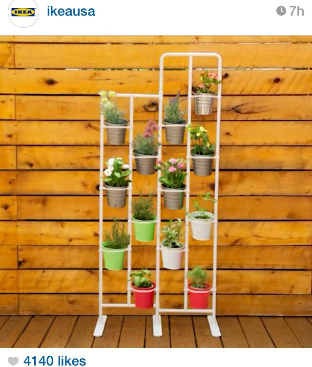"IKEA // Add 2 in a classroom for each student in your class! // SOCKER plant stand $39.99. // width 28 3/4"" height 63 3/4"""