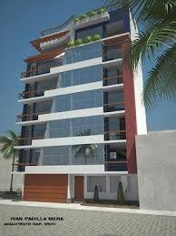 Resultado de imagen para fachadas edificios modernos 4 pisos