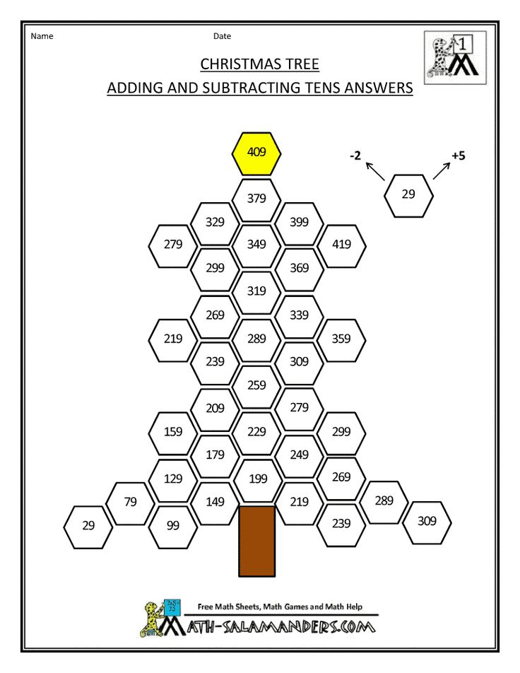 10 best Math images on Pinterest | Christmas math worksheets ...