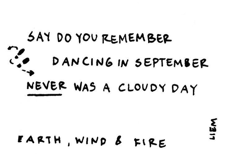 Earth, Wind & Fire. September.