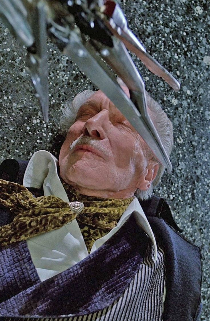 Vincent Price in Edward Scissorhands