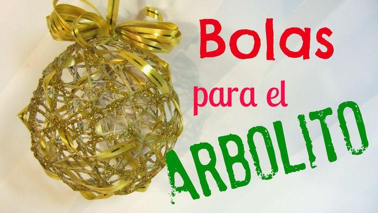 Tutorial: Adorno navideño, esferas (bolas) para el árbol.