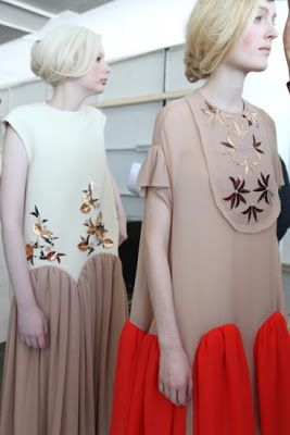 Cool Chic Style Fashion: FASHION | DelPozo fall/Winter 2013 #backstage