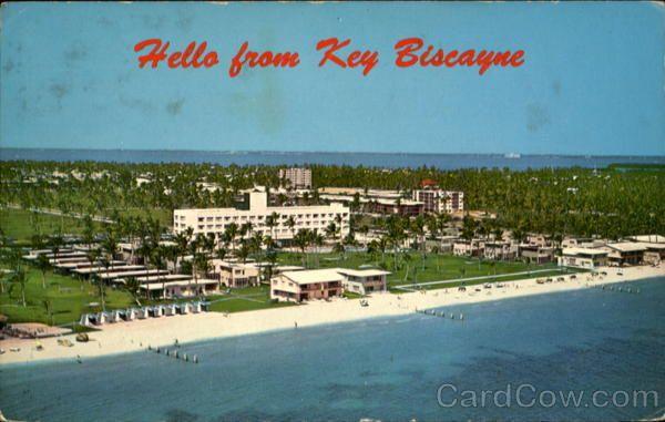 Pin By Jen Hix On Key Biscayne Hotel 1960 70 S Pinterest