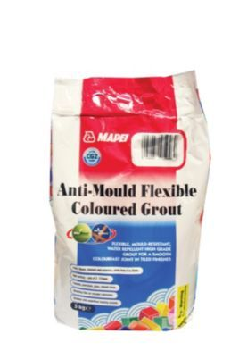 Mapei Ultracolor Plus Anti-mould Grout White 5kg | Wickes.co.uk
