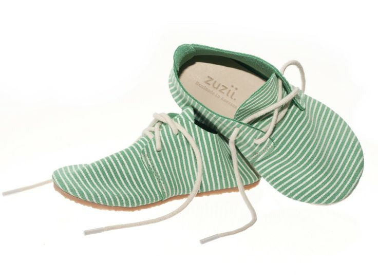 Jade + White Stripe Oxfords | by Ryan Campbell