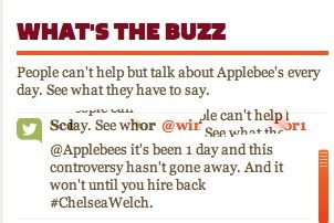 Photo Essay of the Applebee's Fiasco. Good example of what NOT to do!