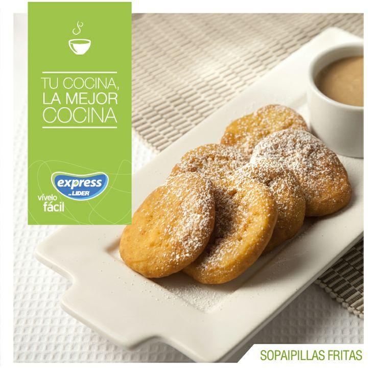 Sopaipillas fritas. #Recetario #Receta #RecetarioExpress #Lider #Food #Foodporn