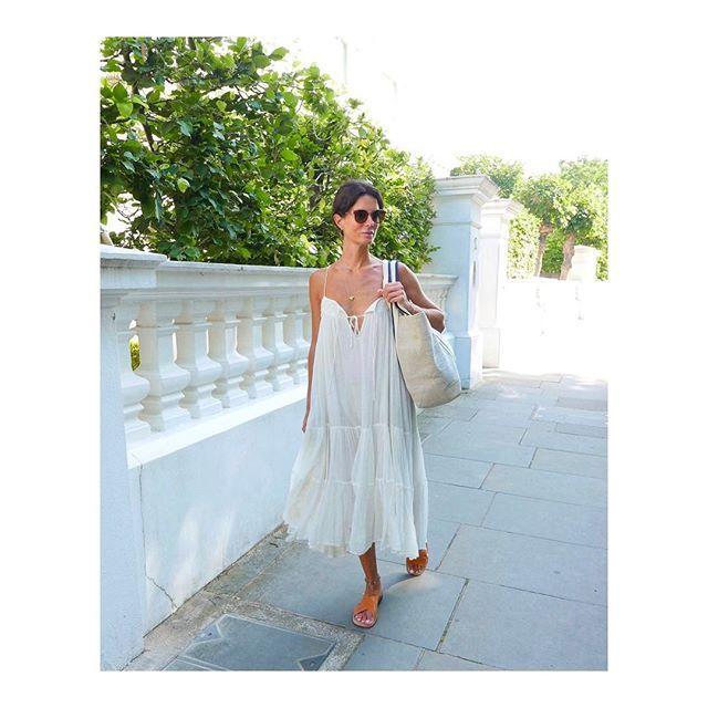 When your beachwear have become your surviving city-gear 😳💦 #liketkit#hedvig#london#HeatWave http://liketk.it/2rKXu