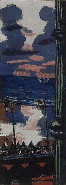 Max Beckmann | Evening on the Terrace | The Met
