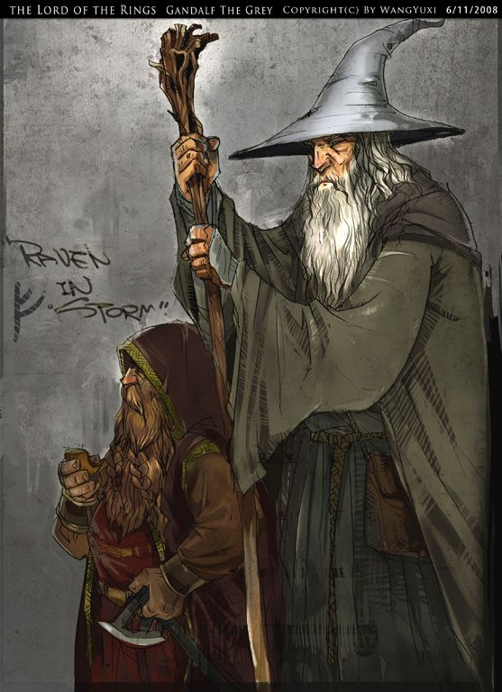 Gandalf The Grey by Wangyuxi.deviantart.com on @deviantART