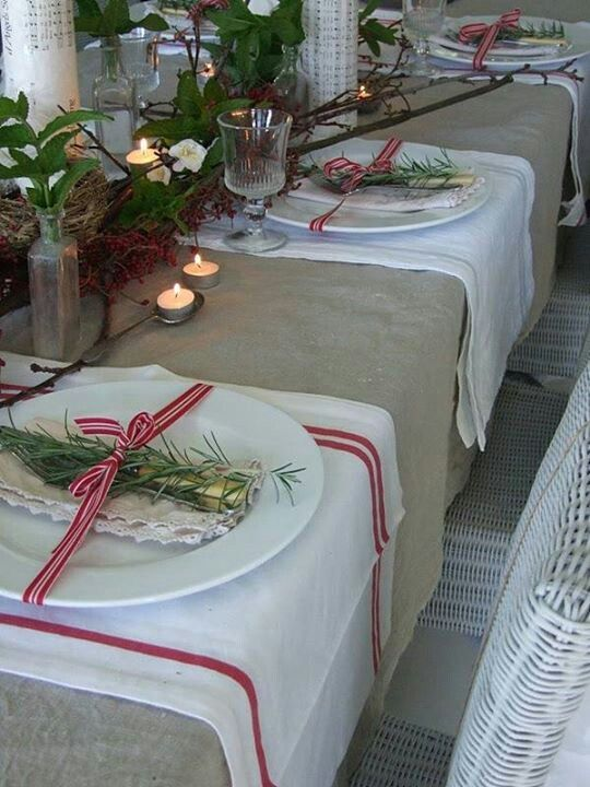 Dinning table: love the country look