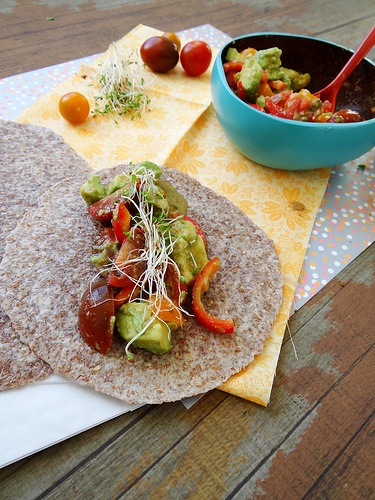 lime cumin avocado tacos | Clean Eating Recipes | Pinterest