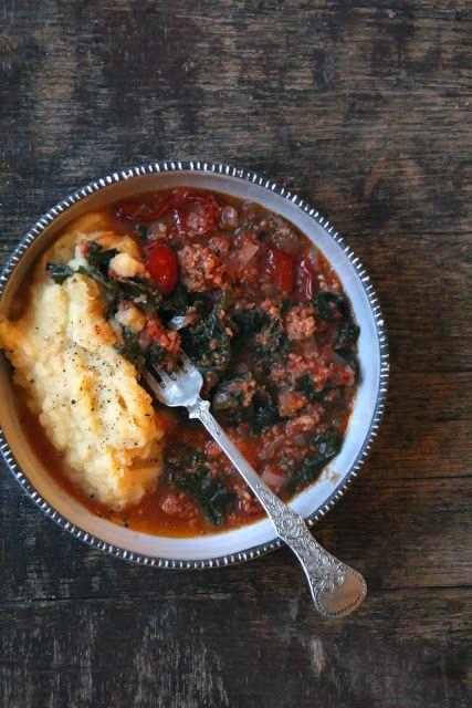 Mat på Bordet: Salsiccia og grønnkål gryte - i Crock Pot eller ikke