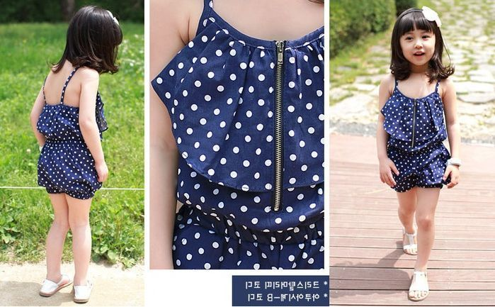 Летние наряды для девочек. Summer dresses for girls. ~