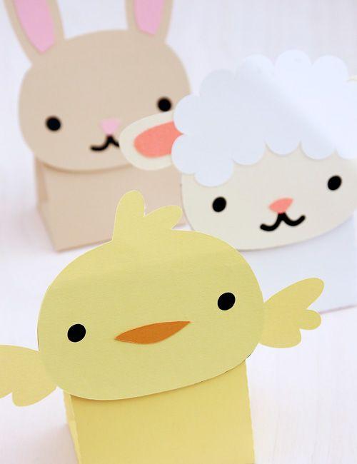 Cute Animal Treat Boxes