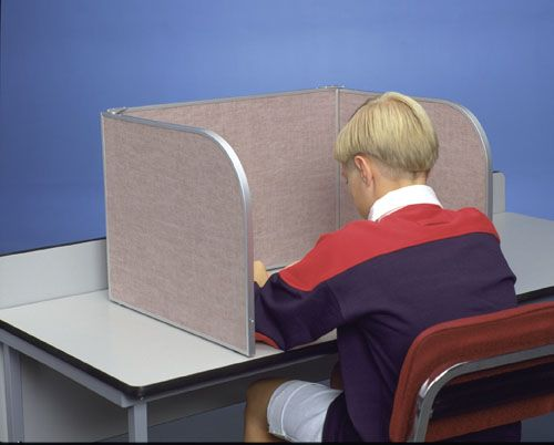 Folding Privacy Screen Student Desk Carrels 02 702 Fab 500 Techie Pinterest Desks And Students