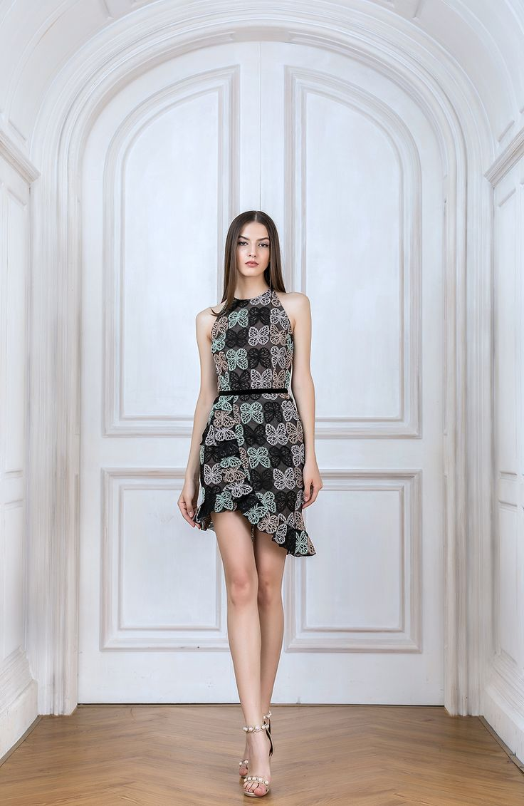 Bronx And Banco - Lulu Ruffle Dress