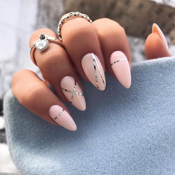 Über 20 elegante Nail Art Designs für echte Ladies – Nageldesign & Nailart