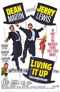 Living It Up (1954): Movie Posters, Jerry Lewis, Movies
