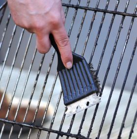 Great tips for cleaning your grill! (And I'm talking about the one you cook on, not the one in your mouth!) LOL!