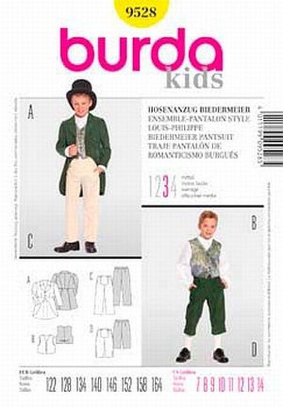 Schnittmuster Burda 9528 Hosenanzug bei Schnittmuster.Net - Schnittmuster.Net Schnitte, Hefte, Stoffe, Kurzwaren, 10,90 €