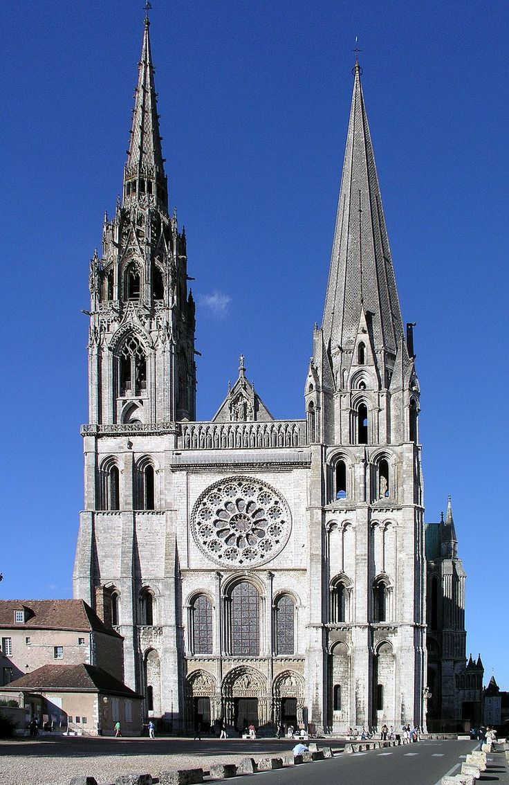 Cathedrale De Chartres Cathedral Architecture Chartres Cathedral