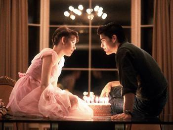 Sixteen Candles...my favorite part