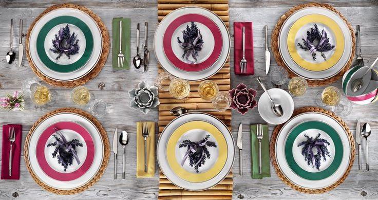 Natura Ceram Hasır serisi #porselen #yemek #tabak