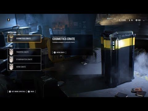 Star Wars BattleFront 2 Cosmetics Crate Unboxing! http://cosmetics-reviews.ru/2018/03/06/star-wars-battlefront-2-cosmetics-crate-unboxing/