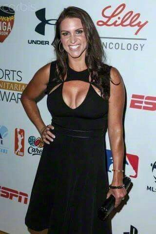 The Busty And Bouncy wwe raw commissioner Stephanie McMahon