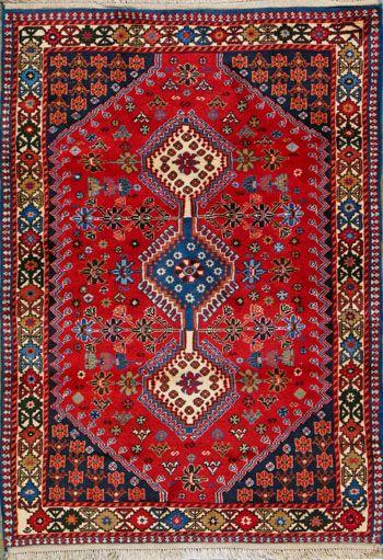 """Yalameh Persian Rug - 3' 6"""" x 4' 10"""""""
