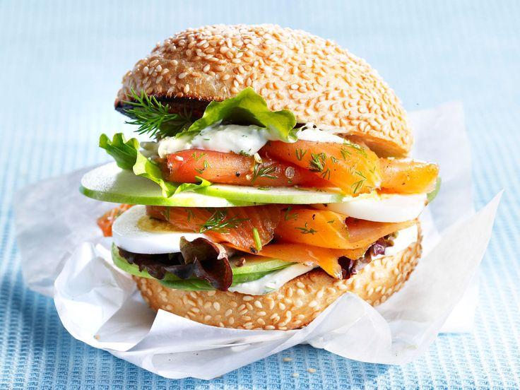 les 25 meilleures id es concernant sandwich au saumon fum sur pinterest sandwich au saumon. Black Bedroom Furniture Sets. Home Design Ideas