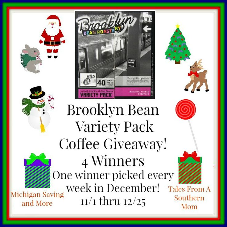 Brooklyn Beans Variety Pack Coffee Giveaway 12/25 ~ Tales From A Southern Mom