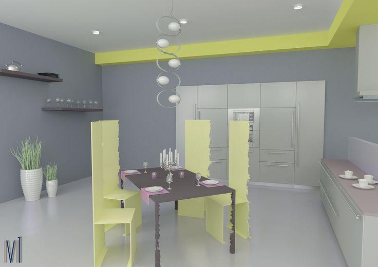the chairs of ideas...our dream! Kitchen color #13seven #interiordesign #homedesign #arredamentointerni #interiordecoration #furniture #homedecoration #lovedesign #industrialdesign #industrialfurniture #kitchen #kitchencolor #cucinamoderna #cucinacolorata #colorkitchen #cucina #cucinadesign