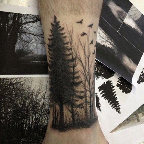 Tatuagem de Fillipe Pacheco.