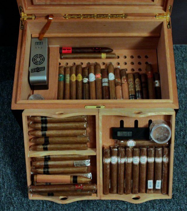 Cigar Humidor Woodworking Plans - WoodWorking Projects & Plans