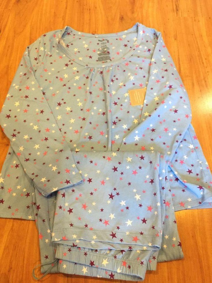 Women Sleepwear Pajama Set Night Suit Sz M #WhiteStag #PajamaSets