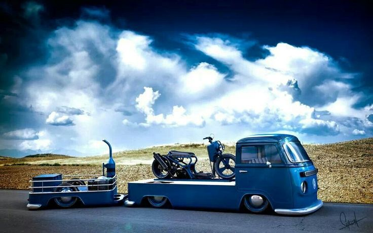 Slammed Vw Transport And Trailer Low Trailers Lowered