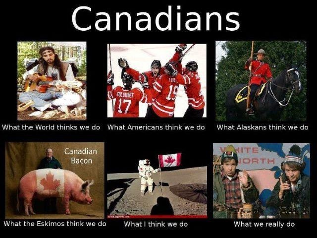This is about us Canadians XD