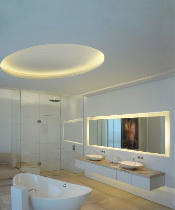 Image Gallery For Website LED light fixtures u tips and ideas for modern bathroom lighting