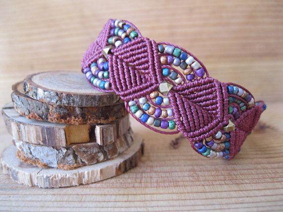 #macrame Micro Macrame Bracelet