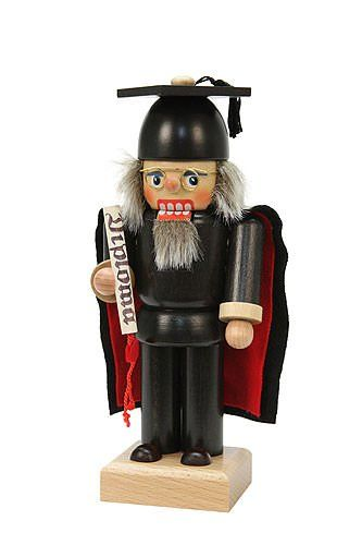 german christmas nutcracker graduate 230 cm 9 inches christian ulbricht this is an amazon. Black Bedroom Furniture Sets. Home Design Ideas