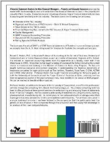 Financial Statement Analysis for Non-Financial Managers: Property and Casualty Insurance