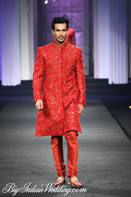 Narendra Kumar Men's Wear Collection at Aamby Valley India Bridal Week 2012